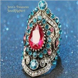 Jewelry - Stunning! BOHO Tibetan Statement Ring